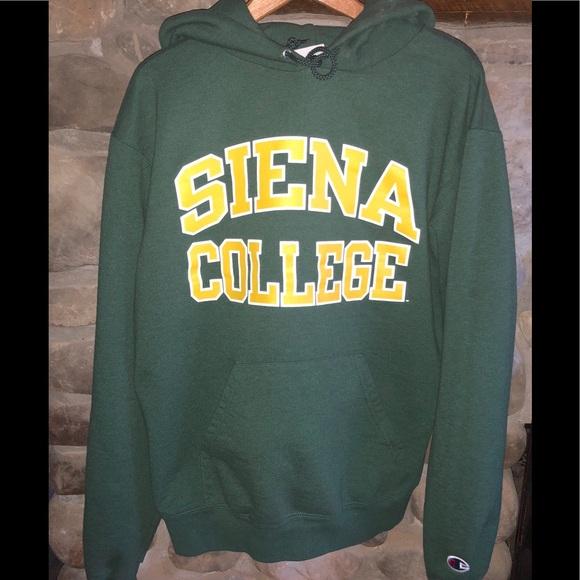 Siena College Hoody EXC Champion Brand Smoke Free